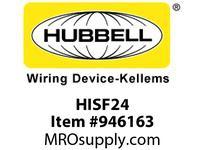 HBL-WDK HISF24 FACEPLATE HI-IMPACTSS2-G4P
