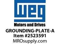 WEG GROUNDING-PLATE-A GROUNDING PLATE 90X25X9.5MM Motores