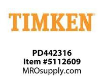 TIMKEN PD442316 Power Lubricator or Accessory