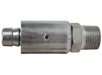 "DIXON 3518WF2 1"" x 1"" Male NPT Nipple w/ CS Ferrule Steel Nipple"