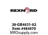 REXNORD 6480747 30-GB4031-02 IDL*P/A 4.75RIS STL F/S