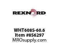 REXNORD WHT6085-60.6 WHT6085-60.6 F4 T1P WHT6085 60.6 INCH WIDE MATTOP CHAIN