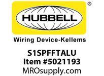 HBL_WDK S1SPFFTALU TILE FURN FEED SYSTEM 1 BRUSHED ALU