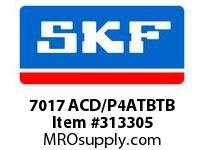 SKF-Bearing 7017 ACD/P4ATBTB