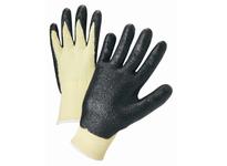 West Chester 713KSNF/XS 13 Gauge Kevlar Knit Shell Black Foam Nitrile Coated Palm. EN 388 = 4343; ANSI 2 Cut 629 gms - NEW 2016 ANSI A2 Cut