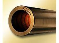 BUNTING B932C016044-IN 2 x 5 - 1/2 x 1 C93200 Cast Bronze Tube Bar C93200 Cast Bronze Tube Bar
