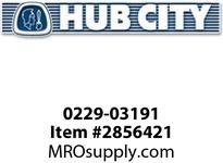 HUB CITY 0229-03191 W150 KIT J-BRACKET Worm Gear Accessory
