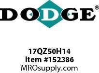 DODGE 17QZ50H14 TIGEAR-2 E-Z KLEEN REDUCER
