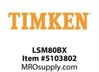 TIMKEN LSM80BX Split CRB Housed Unit Component