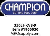 Champion 330LH-7/8-9 CARBON LEFT HAND HEX DIE