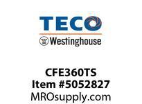 Teco-Westinghouse CFE360TS NEMA C-FLANGE KIT FOR CAST IRON MOTORS MAX-E1 AEHE/AEHH8N FRAME 360TS
