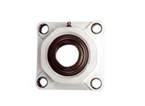 Dodge 127521 F4B-SCEZ-108-PCR BORE DIAMETER: 1-1/2 INCH HOUSING: 4-BOLT FLANGE HOUSING MATERIAL: POLYMER