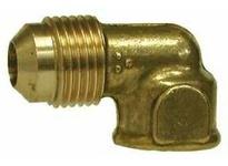 MRO 10318 3/8 X 1/8 M FLARE X FIP ELBOW