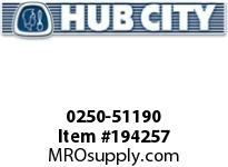 HUBCITY 0250-51190 HP2042IA 4.13 3.0HP COMPACT HELICAL-PARALLEL DRIVE