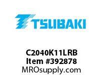 US Tsubaki C2040K11LRB C2040 RIV 1L/K-1