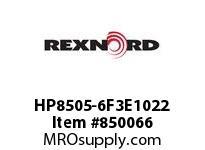 REXNORD HP8505-6F3E1022 HP8505-6 F3 T10P T22P