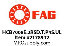 FAG HCB7008E.2RSD.T.P4S.UL SUPER PRECISION ANGULAR CONTACT BAL
