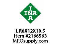 INA LR8X12X10.5 Inner ring