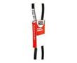 Bando 4L670 DURAFLEX GL FHP V-BELT TOP WIDTH: 1/2 INCH V-DEPTH: 5/16 INCH