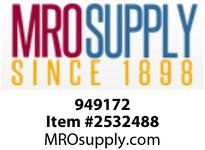 MRO 949172 3/8 2000# FULL PORT SS BALL VALVE