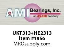 AMI UKT313+HE2313 2-1/4 HEAVY WIDE ADAPTER TAKE-UP