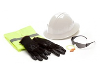 Pyramex NHFBGL Kit Includes Gray Intruder S4120S RVZ2110L DP1001 HP24010 and Gloves