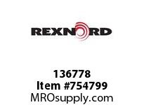 REXNORD 136778 730031032301 3 HSB 1.0000 BORE NSKWY