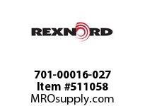 701-00016-027 STRAIGHT SLEEVE 133754