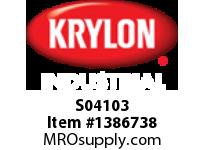 KRY S04103 Industrial Paint-All Enamel Paint Red Krylon 16oz. (12)