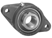 IPTCI Bearing UCFL211-35 BORE DIAMETER: 2 3/16 INCH HOUSING: 2 BOLT FLANGE LOCKING: SET SCREW