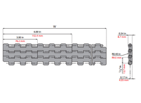 System Plast 261107 LFG2121FT-K2400 MPB-INCH