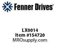 """LX0014 TENSIONER HARDWAR 1/2 X 2.25"""",LX0014"""