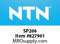 NTN SP206 Stainless-Mounted unit housing