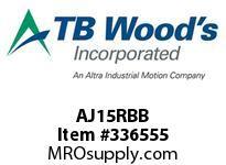 TBWOODS AJ15RBB AJ15 HUB SOLID CL B C