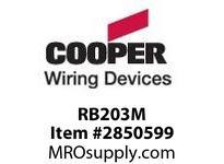 CPR-WDK RB203M RhinoBox 50A125/250V NEMA1 Comb ManRes