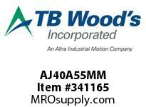 TBWOODS AJ40A55MM AJ40-AX55MM FF COUP HUB