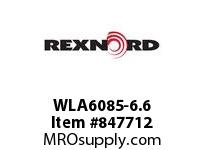 REXNORD WLA6085-6.6 WLA6085-6.6 WLA6085 6.6 INCH WIDE MATTOP CHAIN