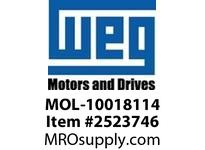 WEG MOL-10018114 MANUAL OVERLOAD SWITCH Motores