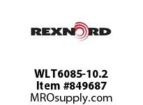 REXNORD WLT6085-10.2 LT6085-10.2 LT6085 10.2 INCH WIDE MATTOP CHAIN
