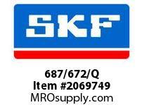 SKF-Bearing 687/672/Q