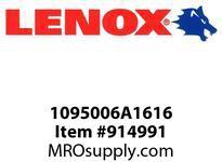 Lenox 1095006A1616 BI-METAL UTILITY BITS-06A1616 6 X 1 UTILITY BIT-06A1616 152 X 25MM UTILITY BIT- BITS-06A1616 6 X 1 UTILITY BIT-06A1616 152 X 25MM UTILITY BIT-