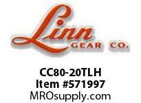 Linn-Gear CC80-20TLH TAPER-LOCK COUPLING SPROCKET  H1