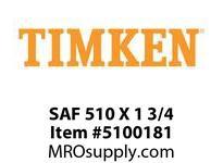 TIMKEN SAF 510 X 1 3/4 SRB Pillow Block Housing Only