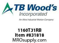 TBWOODS 1160T31RB 1160T31XSOLID G-FLEX HUB