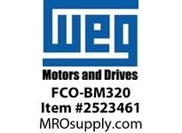 WEG FCO-BM320 FAN COVER 320 FRAME BRAKE MOTO Integrals