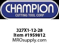 Champion 327X1-12-28 CARBON ROUND DIE STOCK ADJ