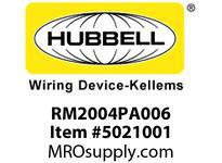 HBL_WDK RM2004PA006 LINKOSITY ML.RCPT.20A 4W 6