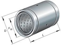 INA PAB3068PPAS Linear plain bearing