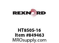 REXNORD HT8505-16 HT8505-16 HT8505 16 INCH WIDE MATTOP CHAIN WI