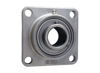 FYH UCSF204 20MM STAINLESS STEEL FLANGE UNIT SETSCREW LOCKING-STAINLESS INSERT